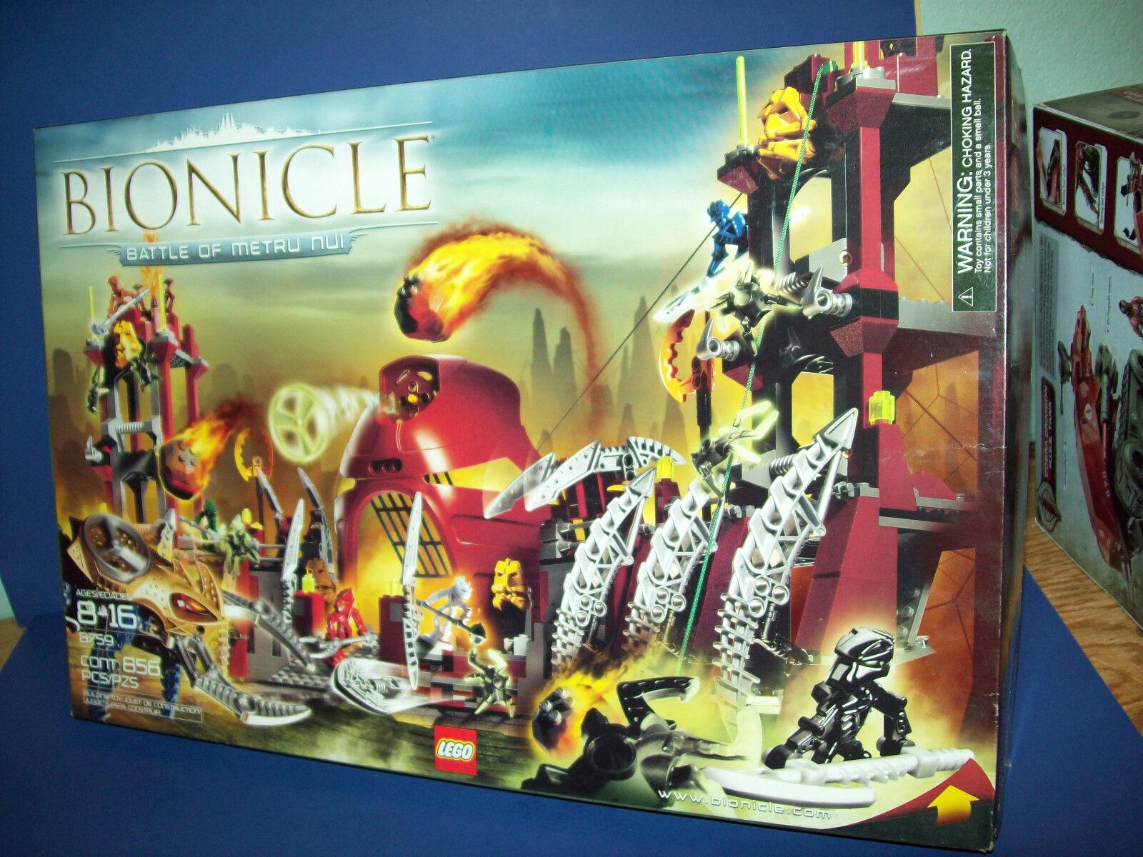 Lego 8759 Bionicle - Kampf von Metru Nui - Im Ruhestand Versiegelt Neu 856