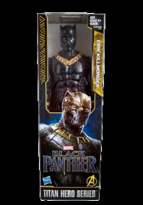 Titan-Hero-Serie-BLACK-PANTHER-Erik-Killmonger-Marvel-Hasbro-Action-Figure-NEW