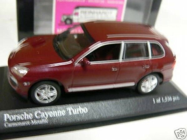 1 43 Minichamps Porsche Cayenne Turbo 2007 2007 2007 rotmetallic 400 066270  | Online Outlet Shop