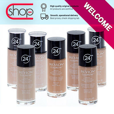REVLON Colorstay For COMBINATION / OILY & NORMAL / DRY Skin Foundation Makeup