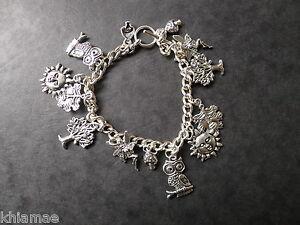 Mystic Woods 13 Charm Wiccan Bracelet