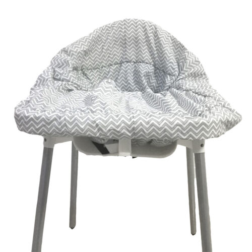 Prettyia Baby Kids Shopping Cart Cover Extra Large Buggy Cushion Gray wave