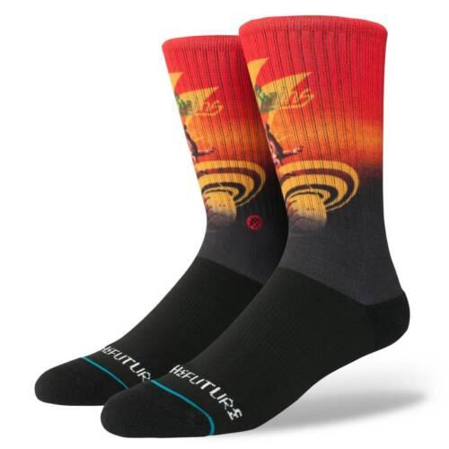 STANCE SOCKS NEW Men/'s Into The Future Socks Black  BNWT