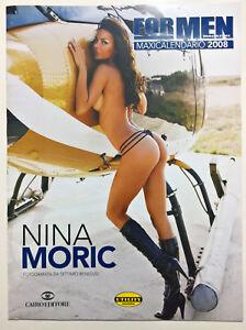 For Men Calendario.Dettagli Su Calendario For Men Magazine 2008 Nina Moric Cairo Editore 08 Da Collezione