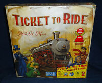 Ticket To Ride By Alan R. Moon By Days Of Wonder Train Adventure Board Game