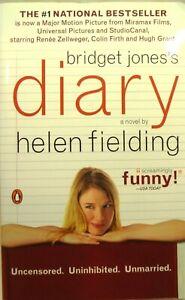 Bridget Jones's Diary by Helen Fielding-2001, Paperback, Movie Tie-In