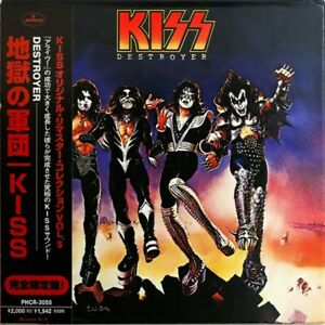 KISS CD - JAPANESE REMASTERED - DESTROYER - GATEFOLD - C139108