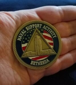 US-Navy-USN-Naval-Support-Activity-Bethesda-Maryland-MILITARY-Challenge-Coin