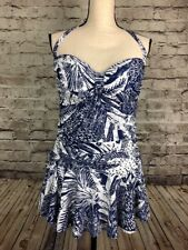 e969cfda98046 item 6 Rose Marie Reid Halter Swimdress Tummy Control Swim Suit Blue White  Sz S XL XXL -Rose Marie Reid Halter Swimdress Tummy Control Swim Suit Blue  White ...