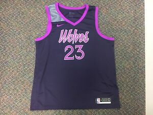 sports shoes f54c0 f7571 Details about RARE Prince Nike Swingman NBA Authentic Jersey Timberwolves  Jimmy Butler 56 XXL
