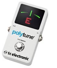 TC Electronic Polytune 2 Pedal Tuner New chromatic strobe Tuner Poly tune V2