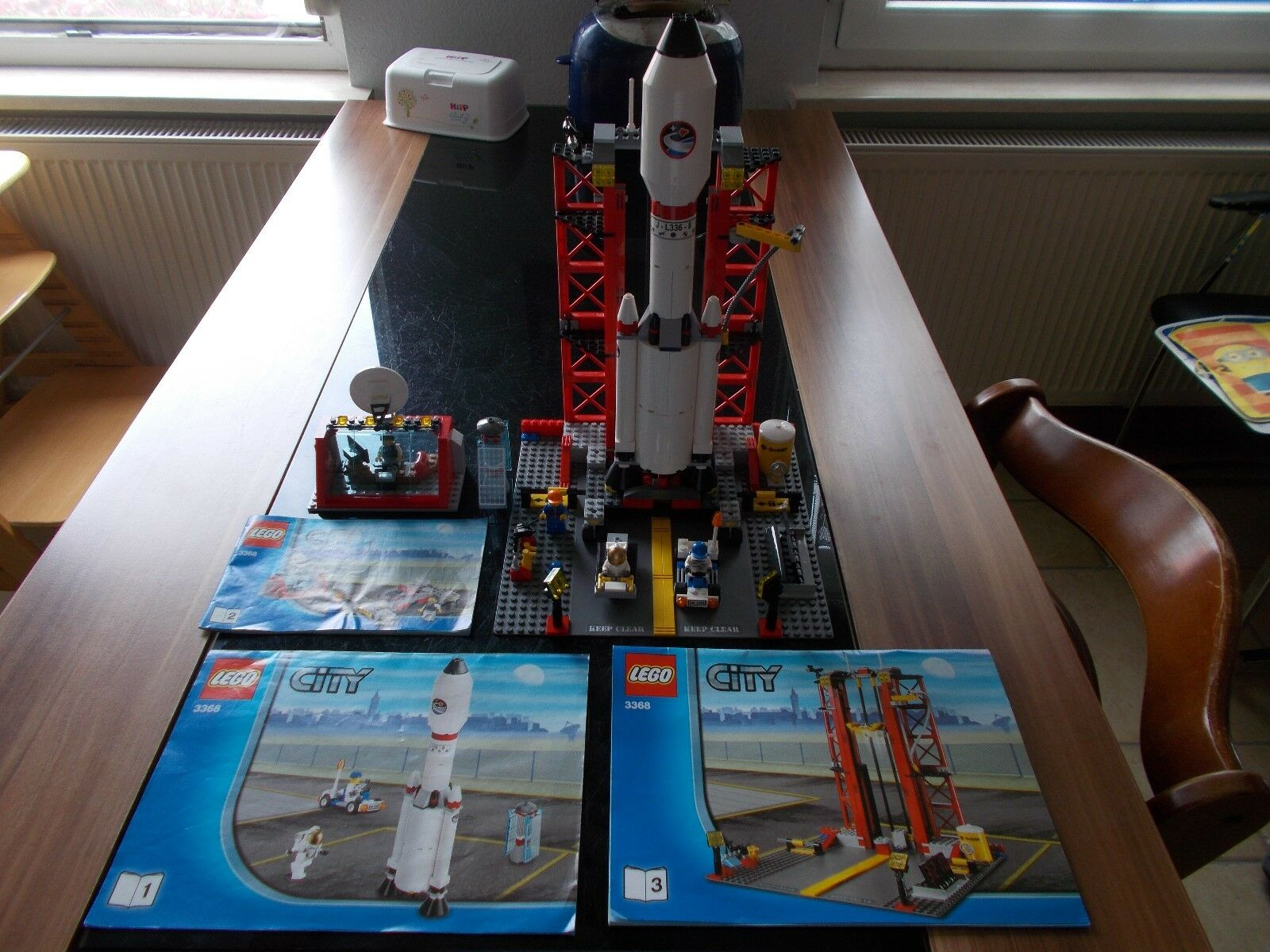 LEGO ® City - 3368-missili stazione/spacecenter-con recipe (BA)