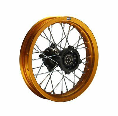 Hmparts Alu Felge Eloxiert 10 Zoll Hinten Gold 12 Mm Typ2 Pit Dirt Bike Cross
