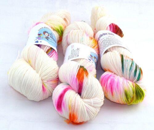 "Atelier Zitron 100g//80/% Wolle, 20/% Polyamid Kuschelsockenwolle /""Ferdi Fuchs/"""