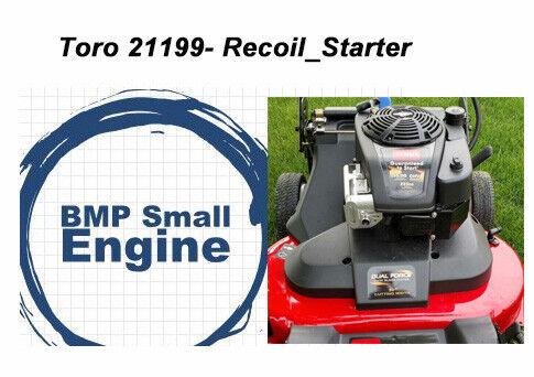 """Recoil Pull Starter For 223cc Toro TimeMaster 30/"""" Mower mdl# 21199"""