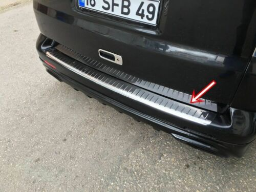 Steel VW T5 TRANSPORTER//CARAVELLE//MULTIVAN Chrome Arrière Protection Pare-chocs Garde S