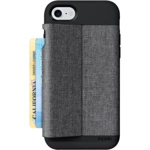 the best attitude eca48 72f47 Details about Incipio iPhone 8 7 6s 6 Esquire Wallet Card Storage Case  Cover Black/Grey
