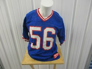 release date: b3b92 55889 VINTAGE RAWLINGS NEW YORK GIANTS LAWRENCE TAYLOR #56 BLUE ...