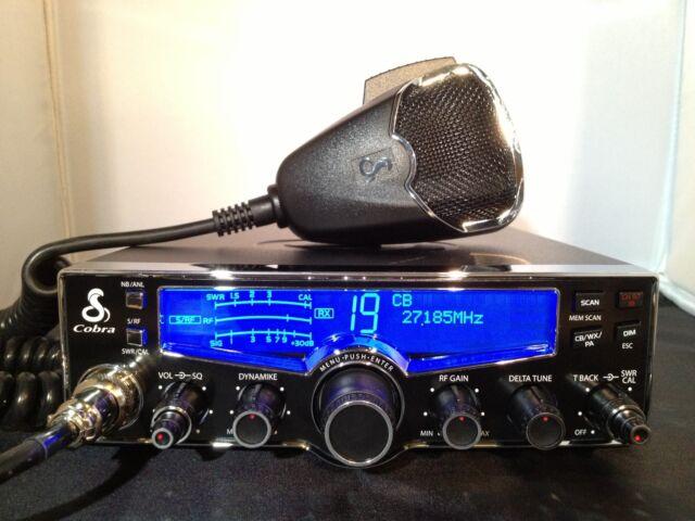 Cobra 29LX 40 Channel CB Radio W 4 Color Display 29 LX