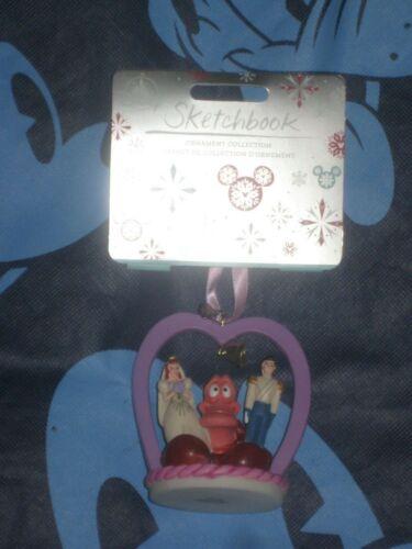 Ariel /& Prince Eric Wedding Cake 2020 Disney Sketchbook Ornament Sebastian