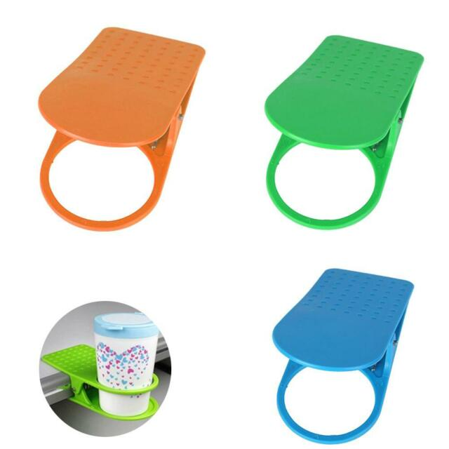 1PC Fashion Office Kitchen Table Desk Drink Coffee Cup Holder Clip Drinklip