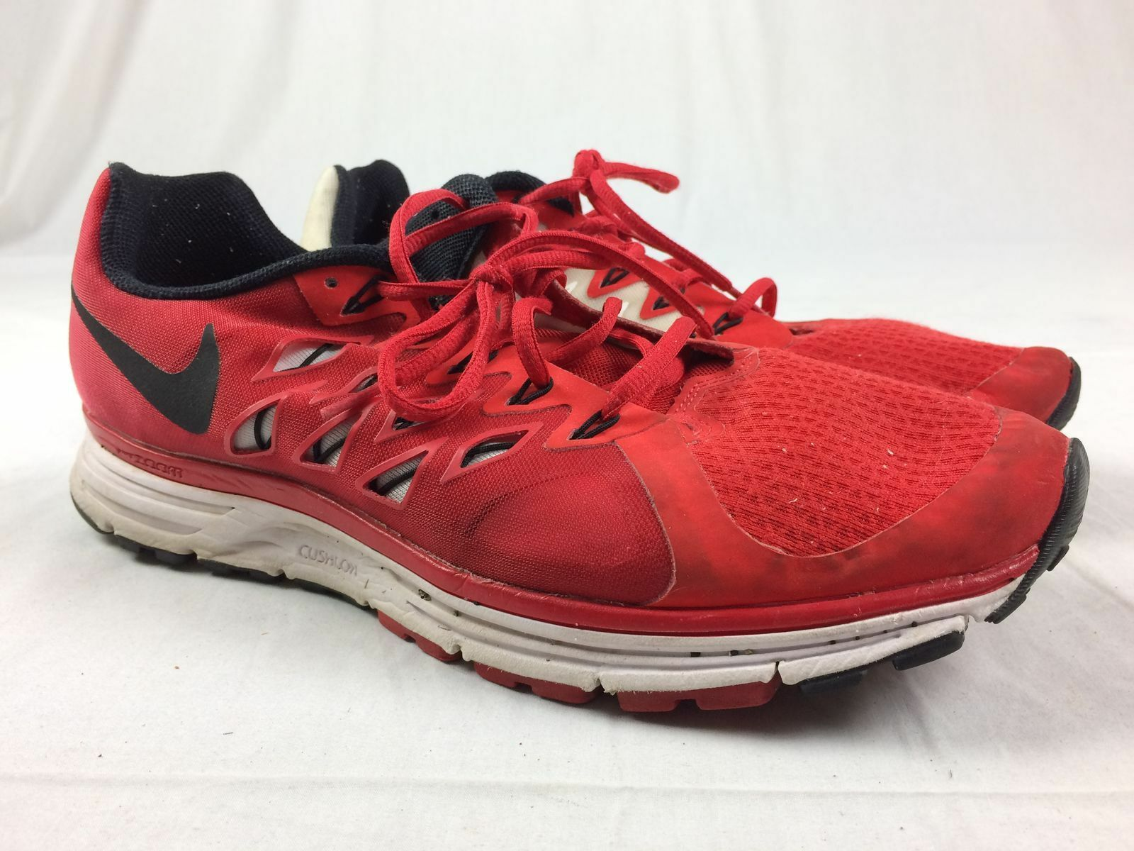Nike Vomero 9 - Red/White Running, Cross Training (Men's 12.5) - Used