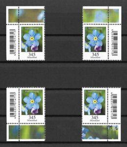 Bund-Mi-Nr-3324-2017-postfrisch-Blumen-Vergissmeinnicht