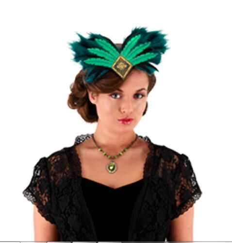 Oz the Great /& Powerful EVANORA Wicked Witch Headband Deluxe Disney Costume Hat