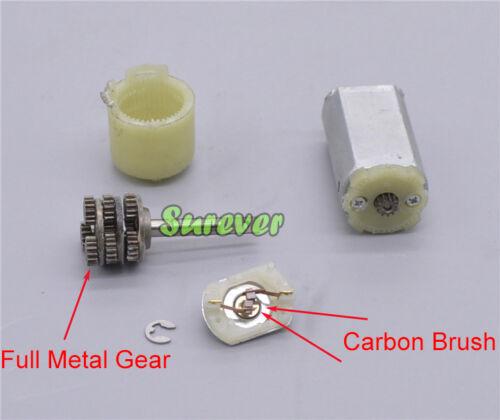 DC 3V-12V 6V 138RPM Mini 180 Planetary Gear Motor Micro 20mm Full Metal Gearbox