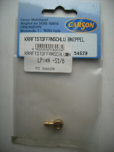 Carson 54629 Kraftstoffanschlussnippel