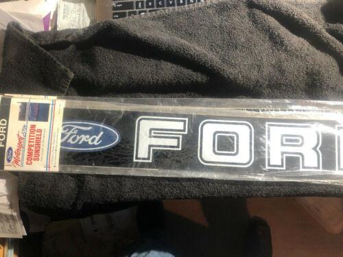 Vintage OEM Ford Motorsport SVO Competition Sunshield Windshield Decal Logo