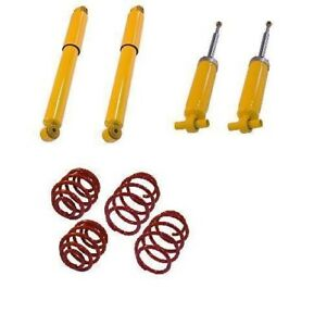 Details about sport suspension lowering kit shock absorbers springs VW T3  Transporter Bus