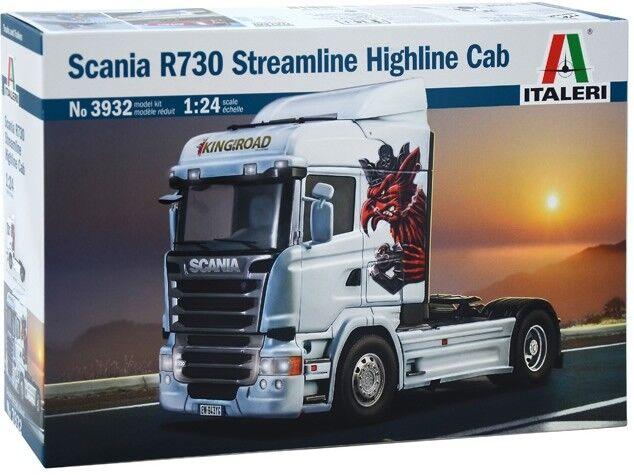 Italeri 1 24 Scania R730 Streamliner Highline Cab