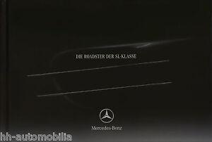 Section SpéCiale Mercedes Sl Prospectus 2004 12/04 Autoprospekt Brochure Broszura Opuscolo Catalogue-afficher Le Titre D'origine Pratique Pour Cuire
