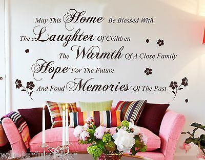 May This Home wall art quote wall stickers wall decal wall decor
