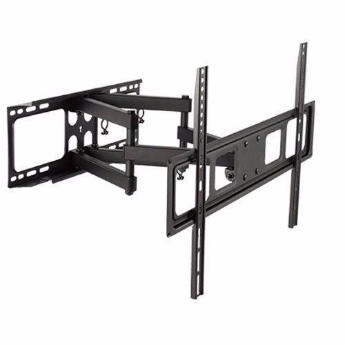 DUAL ARM SWIVEL LCD LED FULL MOTION TV WALL MOUNT BRACKET 42 47 50 55 60 65 70