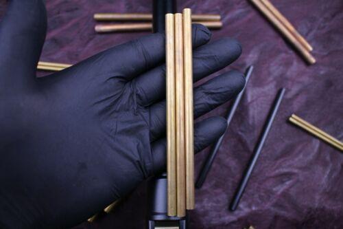 OLIR Mosaikpin Damastklinge Rohling Damast Klinge damastmesser 13,5 cm Ø 4 mm