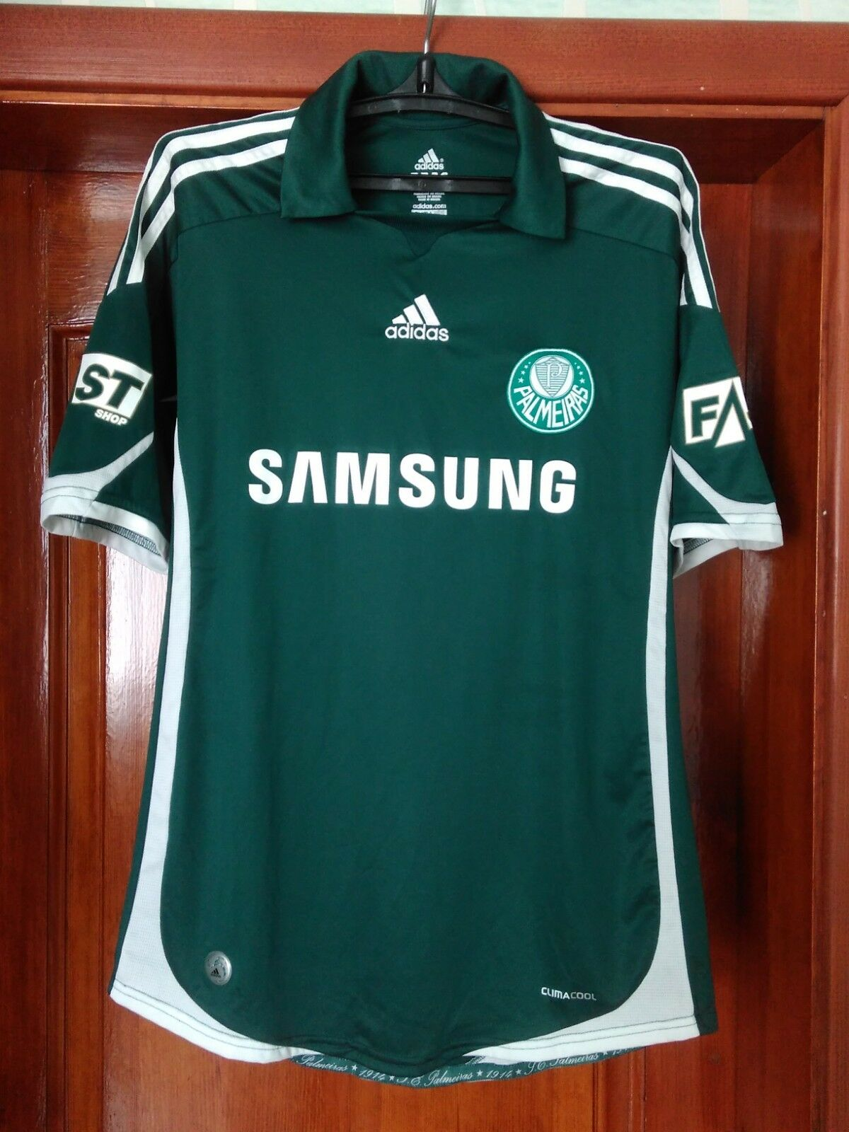 7c1dcc5ce Palmeiras 2009-2010 home football shirt Adidas soccer jersey Keirrison size  L