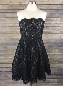 df4e349b58 Target X Neiman Marcus X Robert Rodriguez Black Lace Dress Size 8