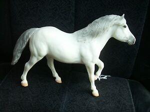 Breyer #702197 Snowball Hafflinger Christmas Pony AND #701207 Plush Kris Santa