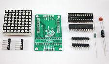 LED Matrix Bausatz, MAX7219, 8x8 rote LED Matrix für Arduino, Raspberry Pi,STM32