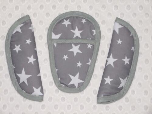 Maxi-Cosi Cabriofix//pebble//universal Chest//shoulder//Crotch Pads grey