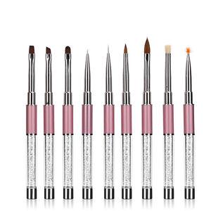 Dotting-Painting1PCS-Pen-GEL-amp-Acrylic-Nail-Art-Tips-Design-Polish-Brush-Set