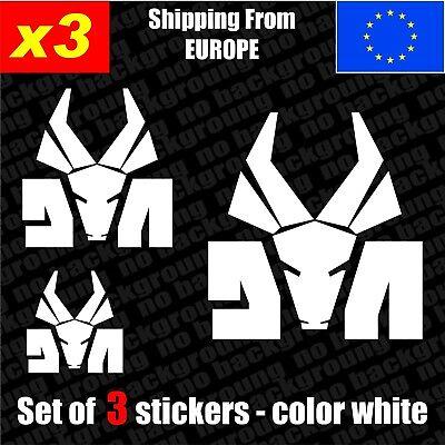 Die Antwoord Vinyl Car Decal Sticker White 4