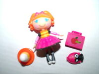 Lalaloopsy Mini Doll BEA SPELLS A LOT School Bus Version with Pet & Accessories