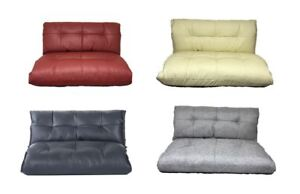 Image Is Loading Coloured Lounge Comfy Sofa Bed Floor Sleeper Pu