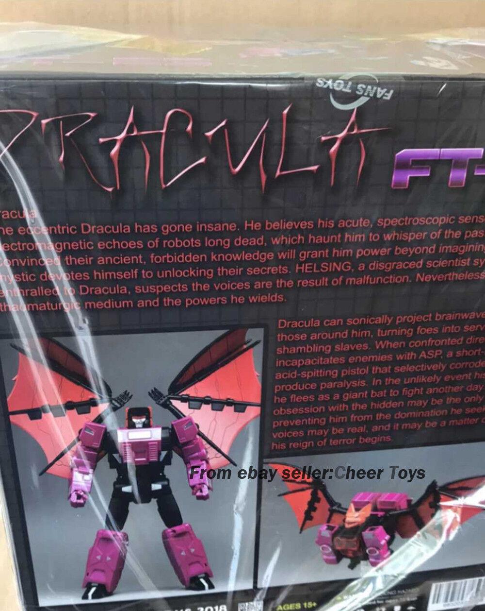 Original G1 G1 G1 FansToys FT-23 ft23 Dracula MP FT23 Figure Model 968549
