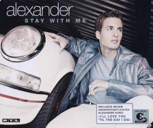 Alexander (Klaws) Stay with me (2003, Bohlen)  [Maxi-CD]