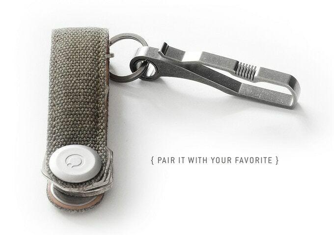 [NEW] HANDGREY KIN   TITANIUM Key & Belt  hook - KIN {no.6} & {no.9}  good quality