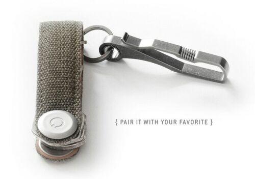[NEW] HANDGREY KIN / TITANIUM Key & Belt hook - KIN {no.6} & {no.9}